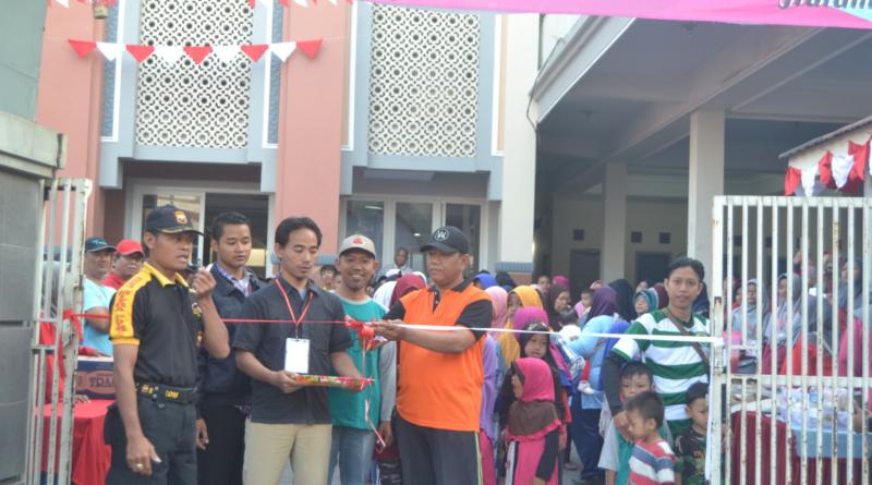 Adakan Acara Jalan Sehat, Pemuda LDII Kecamatan Semampir Undang Warga Sekitar