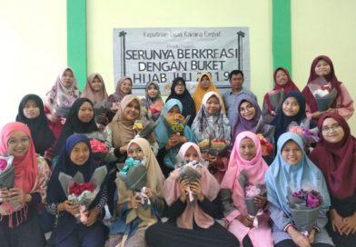 Asah Kreatifitas Remaja Putri Melalui Acara Buket Hijab